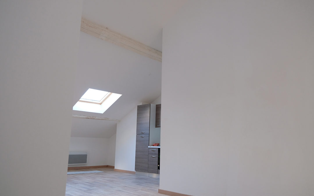 Rénovation d'un appartement dans des combles perdus à Thionville 57