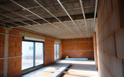 Réalisation d'isolation et plafond lumineux à Terville 57