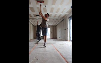 Vidéo : pose de bandes à joint